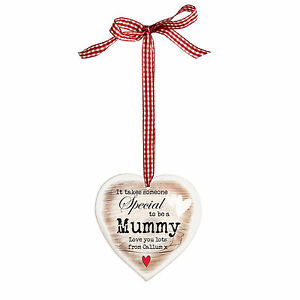 PERSONALISED HEART - MUMMY TO BE / NEW MUM / MOTHERS DAY / BIRTHDAY GIFT IDEA