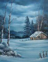 ORIGINAL OIL PAINTING - Breath of Winter by SP Soni