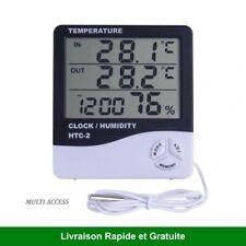 Station météo Thermomètre digital intérieur avec sonde extérieur Hygromètre