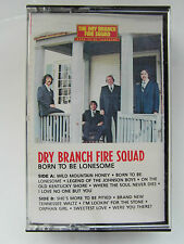 Dry Branch Fire Squad - Born To Be Lonesome - Album Cassette Tape Used very good
