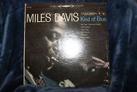 Miles Davis - A Kind of Blue LP Vinyl 2-Eye Stereo CS-8163, Play Tested