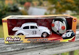 2005 Planet Toys DISNEY Herbie Fully Loaded R/C Car w/ Controller 1:18 Scale NIB