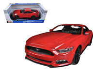 2015 Ford Mustang GT 5.0 Red 1:18 Diecast Model - 31197R *