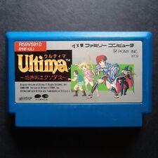 ULTIMA KYOFUU NO EXODUS Nintendo Famicom NTSC JAPAN・❀・RPG ADVENTURE NES ウルティマ