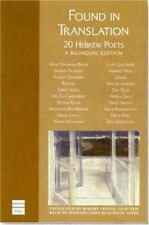 Found in Translation: Modern Hebrew Poets (English and Hebrew Edition)