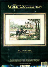 Gold colledtion Counted cross stitch kit. M'Lady's Chateau. Unopened.