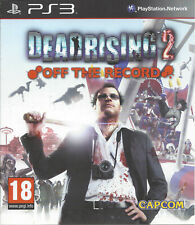 DEAD RISING 2 OFF THE RECORD for Playstation 3 PS3 - with box & manual