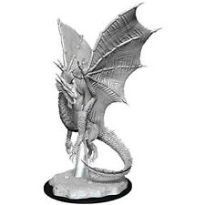 D&d Nolzurs Marvelous Unpainted Miniatures Young Silver Dragon