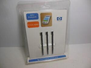 New HP Stylus Three-Pack iPAQ Pocket PC h2200 Series