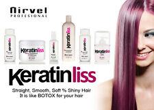 Keratin Hair Straightening Smoothing FULL Set Glossy