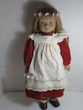"""Heidi Ott Doll - Original Switzerland 20"""" Seraina Girl Doll w/ Wrist Tag"""
