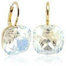 Ohrringe mit Kristalle von Swarovski® Gold Crystal Moonlight NOBEL SCHMUCK