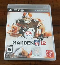 PlayStation 3 PS3 EA Sports Madden NFL 12 ~ Game + Box + Instructions