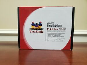 "ViewSonic VFD820-50 8"" Digital Picture Frame FREE Shipping"