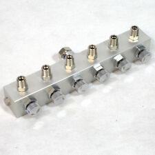 """Airbrush BD13-6 Druckluftverteiler Pistole 1/8"""" Luftverteiler Kompressor 6-fach"""