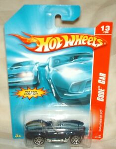 Hot Wheels 2007 Code Car Shelby Cobra 427 S/C Midnight blue,grey int,metal base