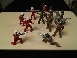 Manoil Barclay podfoot toy soldiers