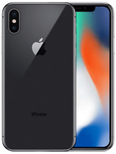 iPhone X - Unlocked (CDMA + GSM) - 64GB - Space Gray - Excellent