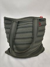 Zipit Handbag Womens Green Large Zipper Shoulder Polyester Compartments