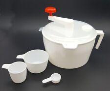 White Dough kneader Atta Maker (MIXEUR) for roti/Chapati/Tortilla Free Cups
