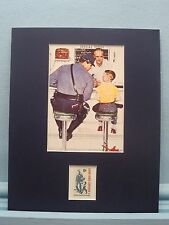 Honoring the Police - Norman Rockwell's The Runaway and the Law & Order stamp