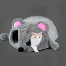 Fashion Cat Dog Kitten Cave Pet Bed House Puppy Sleeping Mat Pad Nest Mouse JK