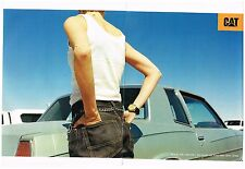 Publicité Advertising 1998 (2 pages) * Pret à porter vetements CAT Caterpillar