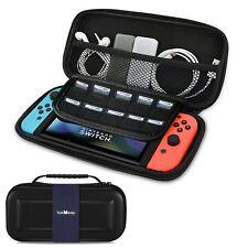 Housse de transport portative avec rabats et rangements pour Nintendo Switch