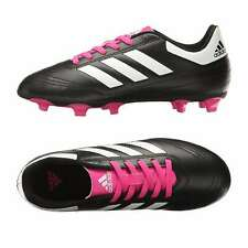 adidas Goletto VI TRX FG J Youth Girls Soccer Shoes Cleats Black pink 5 3fd191b7e20