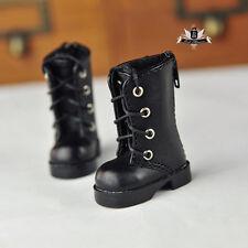 1/6 BJD Shoes Yosd Supper Dollfie DIM Black Boots MID Luts Dollmore AOD DOD SOOM