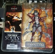 """CLIVE BARKERS TORTURED SOULS 2 """"SZALTAX"""" 7""""IN ACTION FIGURE"""
