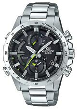Casio EDIFICE EQB900D-1A Smartphone Link Solar Power Stainless Steel Mens Watch