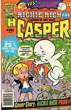 Richie Rich and Casper # 2 (Dec.1987 Harvey Comics)  -  Near Mint