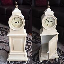 "Beautifully Made 24""/60cm Tall Battery Operated Quartz Cabinet Mantle Clock"