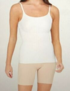 Assets Spanx Thintuition Shaping Cami Tank Size Small Stretch 10229R White A68