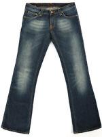 Nudie Damen Regular BootCut Fit Stretch Jeans Hose  - Bootcut Eddy - W30 L32