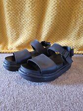 Dr Martens Black Voss Sandals Size 5