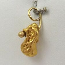 Pure Genuine 22-24K Gold Natural Nugget Charm Pendant 6gr