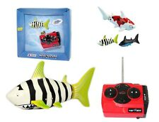 RC Radio Control Toy Robo Fish Mini Shark 3CH Robotic Kids Toy **UK SELLER**