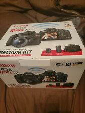 Canon EOS Rebel T7 24.1MP Digital Camera - Black (Kit with 18-55mm and 75-300mm…