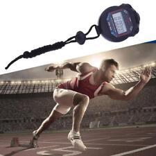 Chronomètre Multifonction Alarme Montre Sport Running Athlé 1/100 Piles Incluses