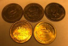 XXX Adult Explore Your Curiosity Lovers Playground Token Coin Lot Of 5