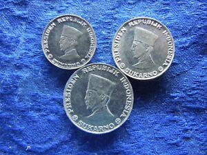 INDONESIA RIAU ARCHPELAGO 1, 5, 10 SEN 1962, KM5-KM7