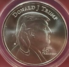President Donald Trump White House Silver Round - One Ounce - .
