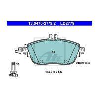 ATE 13.0470-2779.2 Bremsbelagsatz, Scheibenbremse ATE Ceramic   für