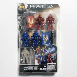Mega Bloks Construx Halo CNH04 Versus Troop Pack *Factory New Sealed* Blocks Toy