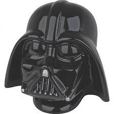 Star Wars: Official Lucasfilm Ltd 3D Helmet Darth Vader Ceramic Money Bank - New
