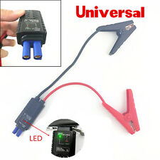 Smart Booster Cable Battery Alligator Clamp LED Indicator For Car Jump Starter