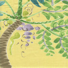 Coastal Drapery Upholstery Fabric by Braemore Textiles Palm Island CL Sunshine