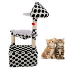 "47"" Kitten Cat Tree Tower Condo Furniture Scratching Post Pet House Activity Fun"
